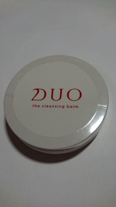 ザ クレンジングバーム/DUO/マッサージ料を使ったクチコミ(1枚目)