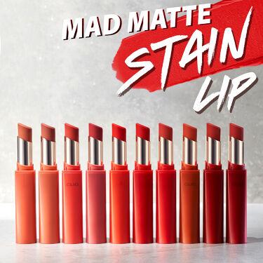 マッド マット ステイン リップ/CLIO/口紅を使ったクチコミ(1枚目)