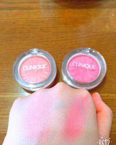チーク ポップ/CLINIQUE/パウダーチークを使ったクチコミ(2枚目)