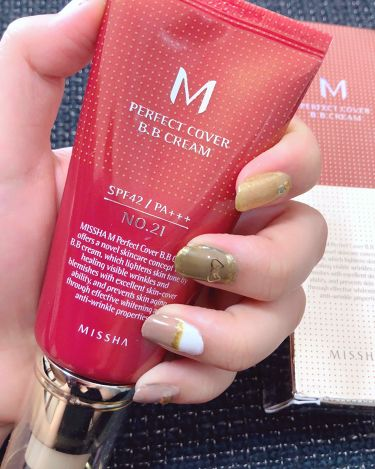 こまつな🌱さんの「MISSHA(ミシャ)BBクリーム UV SPF40 PA+++<化粧下地>」を含むクチコミ