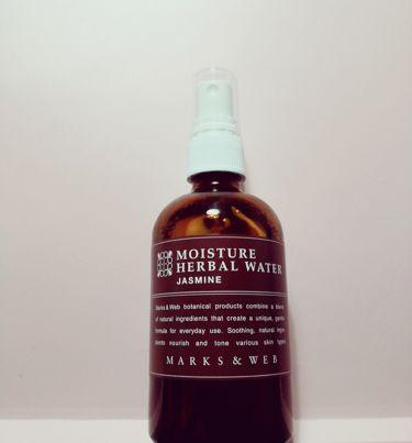 モイスチャーハーバルウォーター ジャスミン/MARKS&WEB/ミスト状化粧水を使ったクチコミ(1枚目)