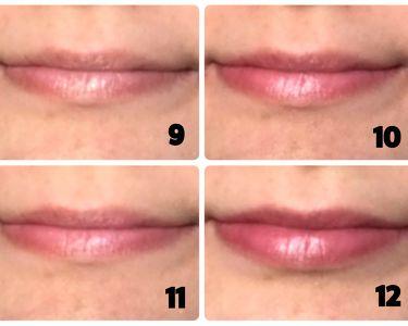 12色 リップ パレット/LOUJENE/口紅を使ったクチコミ(4枚目)