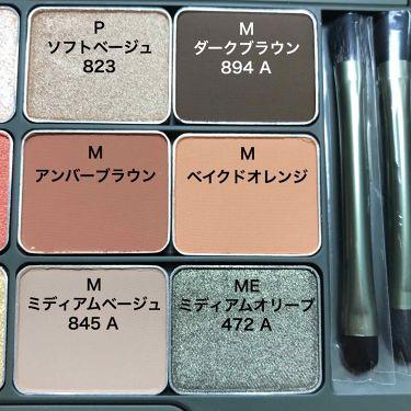 カモアイシャドーパレット/shu uemura/パウダーアイシャドウを使ったクチコミ(3枚目)