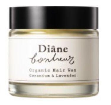 2020/10/1発売 ダイアンボヌール ボヌール オーガニックヘアワックス(バーム) ゼラニウム&ラベンダーの香り