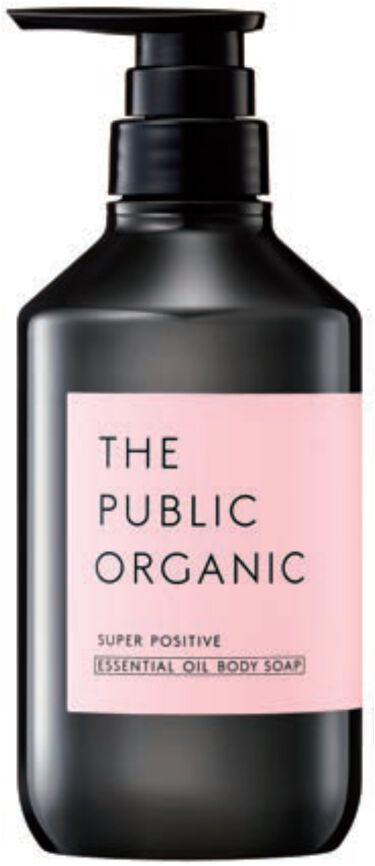 2021/3/1発売 THE PUBLIC ORGANIC スーパーポジティブ ディープモイスト ボディソープ