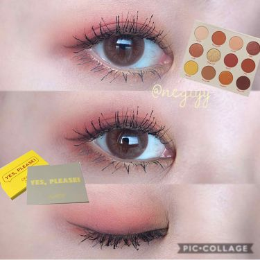 Yes,Please! Shadow Palette/ColourPop/パウダーアイシャドウ by ねぎ🦁