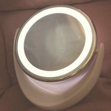 LEDライトミラー (AS-0678)/ニトリ/その他スキンケアグッズを使ったクチコミ(2枚目)