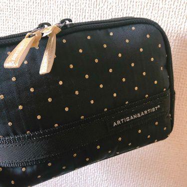 33_chanさんの「ARTISAN&ARTIST(アルティザン・アンド・アーティスト)化粧ポーチ<化粧ポーチ>」を含むクチコミ