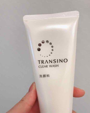 薬用クリアウォッシュ/トランシーノ/洗顔フォームを使ったクチコミ(1枚目)