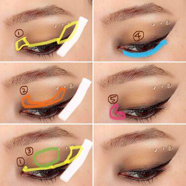 UT シャドウ パレット/NYX Professional Makeup/パウダーアイシャドウを使ったクチコミ(3枚目)