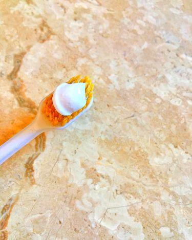 塩と重曹の薬用ハミガキ/歯磨撫子/歯磨き粉を使ったクチコミ(2枚目)