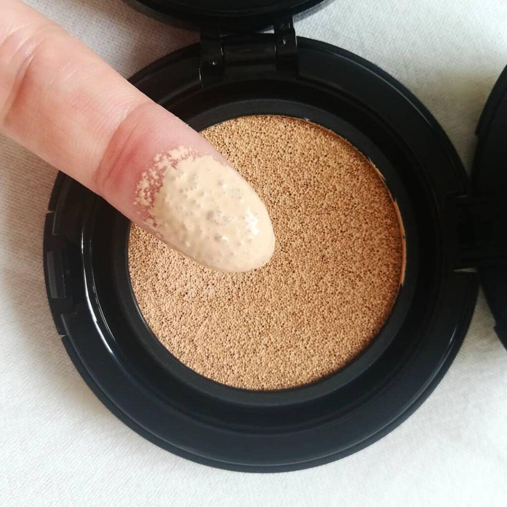 JUNG SAEM MOOL 超持久光感裸膚氣墊粉餅、粉底質地、粉底實測、粉底霜