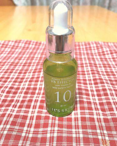 POWER 10 FORMULA VB EFFECTOR/It's skin/美容液を使ったクチコミ(1枚目)