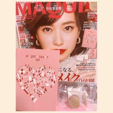 MAQUIA 2018年12月号/MAQUIA/雑誌を使ったクチコミ(1枚目)