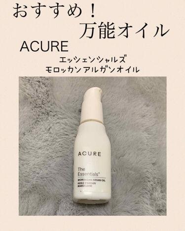モロカンアルガンオイル/Acure Organics/美容液 by さき