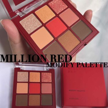 MILLION  RED MODIFY PALETTE /その他/パウダーアイシャドウ by nana