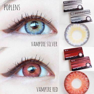 Vampire (ヴァンパイア)/POPLENS/カラーコンタクトレンズを使ったクチコミ(1枚目)