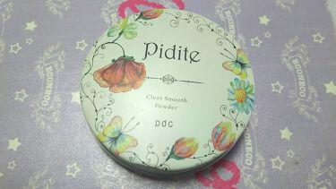 蛛李-churi-さんの「pdcピディット クリアスムースパウダー<プレストパウダー>」を含むクチコミ