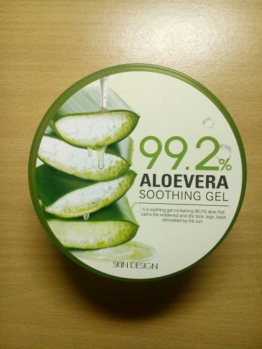 ALOEVERA SOOTHING GEL/その他/ボディ保湿を使ったクチコミ(2枚目)