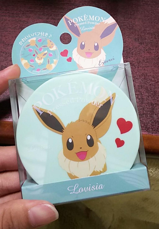 日本Lovisia Pokemon寶可夢蜜粉餅