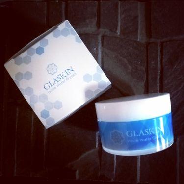 GLASKIN ホワイトウォータークリーム/さくらの森/オールインワン化粧品を使ったクチコミ(1枚目)