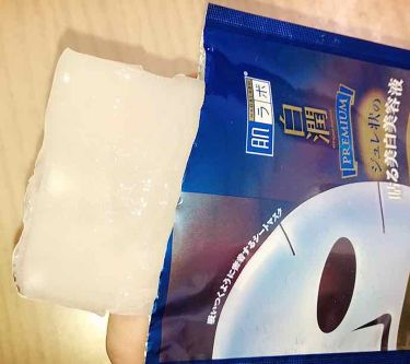 白潤プレミアム 薬用浸透美白ジュレマスク/肌ラボ/シートマスク・パックを使ったクチコミ(2枚目)