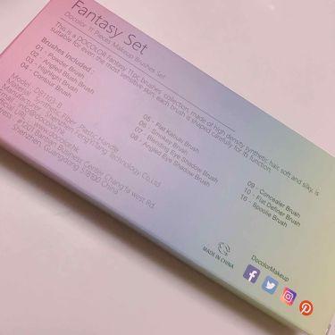 幻のレインボーブラシ/Docolor/メイクブラシを使ったクチコミ(3枚目)
