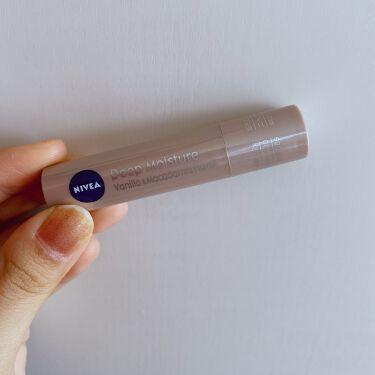 ニベア ディープモイスチャーリップ バニラ&マカダミアの香り/ニベア/リップケア・リップクリームを使ったクチコミ(4枚目)