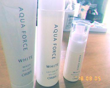 ホワイトニングローション M(しっとりタイプ)/ORBIS/化粧水を使ったクチコミ(1枚目)