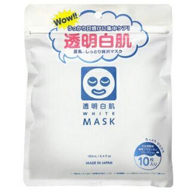 成瀬さんの「透明白肌(トウメイシロハダ)ホワイトマスクN<シートマスク・パック>」を含むクチコミ