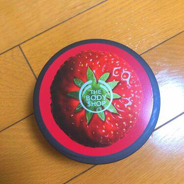 ストロベリー ボディバター/THE BODY SHOP/ボディクリームを使ったクチコミ(1枚目)