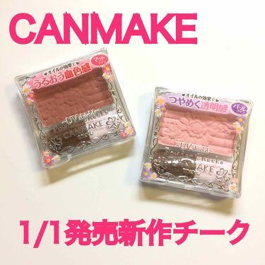 パウダーチークス/CANMAKE/パウダーチーク by 豚眼鏡ちゃん