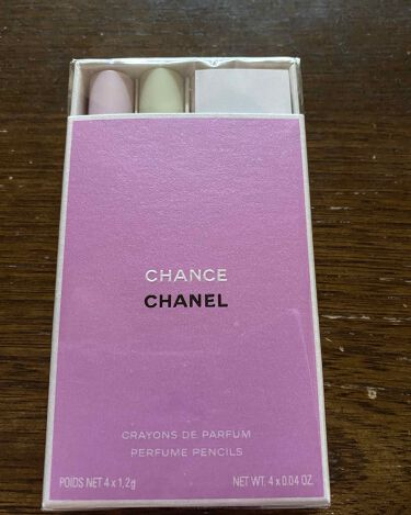 【画像付きクチコミ】CHANELの CHANCEの クレイヨン ドゥ パルファム セットです♪1.2g×49800円限定品CHANELの人気香水のCHANCEシリーズのクレヨン型 練り香水です。チャンスチャンス オーフレッシュチャンス オータンドゥルチャ...