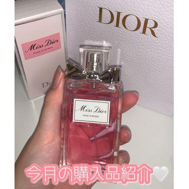 ミス ディオール ローズ&ローズ/Dior/香水(レディース)を使ったクチコミ(1枚目)