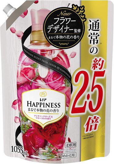 レノアハピネス アンティークローズ&フローラルの香り つめかえ用 1055ml