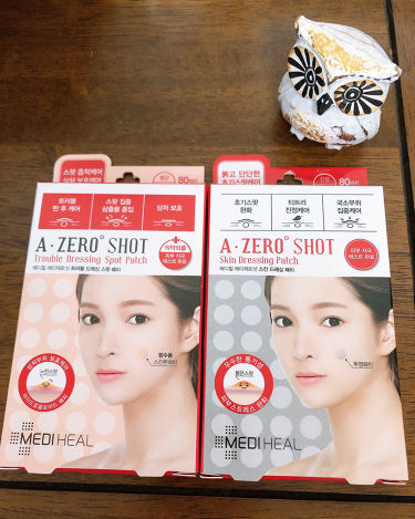 A-zero Shot Trouble Dressing Spot Patch/MEDIHEAL/その他スキンケアを使ったクチコミ(1枚目)