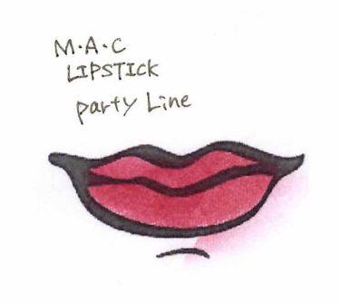 リップスティック/M・A・C/口紅を使ったクチコミ(2枚目)
