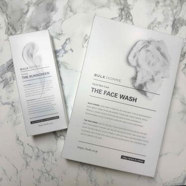 The Face Wash/BULK HOMME/洗顔フォームを使ったクチコミ(2枚目)