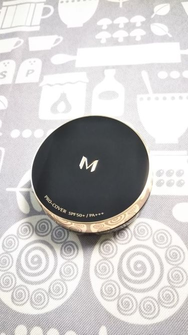 M クッション ファンデーション(プロカバー)/MISSHA/クッションファンデーションを使ったクチコミ(2枚目)