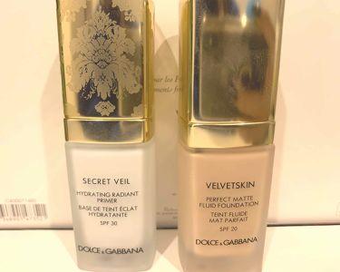SECRET VEIL/DOLCE&GABBANA BEAUTY/化粧下地を使ったクチコミ(1枚目)