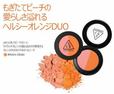 DUO COLOR FACE BLUSH/3CE/パウダーチークを使ったクチコミ(1枚目)