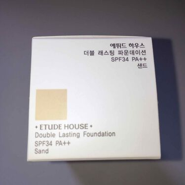 ダブルラスティング ファンデーション(旧)/ETUDE HOUSE/リキッドファンデーションを使ったクチコミ(2枚目)