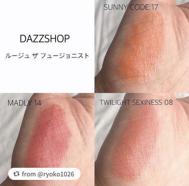 ルージュ ザ フュージョニスト/DAZZSHOP/口紅を使ったクチコミ(3枚目)