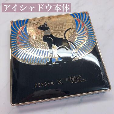 ZEESEA × 大英博物館 エジプトシリーズ  アイシャドウパレット (16色)/ZEESEA/パウダーアイシャドウを使ったクチコミ(6枚目)