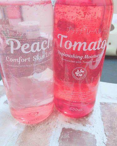 ピーチ コンフォート スキン ローション/プラチナレーベル/化粧水を使ったクチコミ(1枚目)