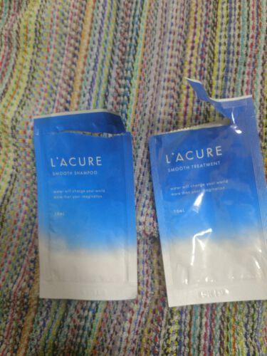 【画像付きクチコミ】いつか買ってみた試供品シャンプー!昨晩使ってみました。L'ACURE スムースシャンプー/スムーストリートメント(ラキュア)うるおいをキープするシャンプーシリーズウォーターリテーション処方(維持とか保持とかって意味らしい)水分を与えて...