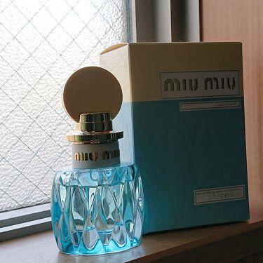 MiuMiu LEauBlueu/miu miu/香水(レディース)を使ったクチコミ(1枚目)
