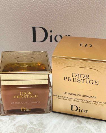 プレステージ ル ゴマージュ/Dior/ゴマージュ・ピーリングを使ったクチコミ(1枚目)