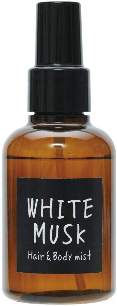ヘアー&ボディミスト ホワイトムスクの香り