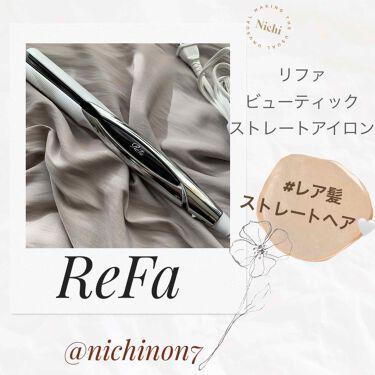 ReFa BEAUTECH STRAIGHT IRON(リファビューテック ストレートアイロン)/ReFa/ヘアケア美容家電を使ったクチコミ(1枚目)